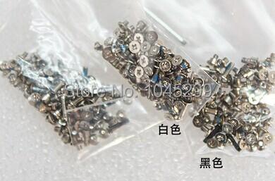 100sets/lot FreeShipping Original white Screws set for iPhone 5 Full Screw Set(China (Mainland))