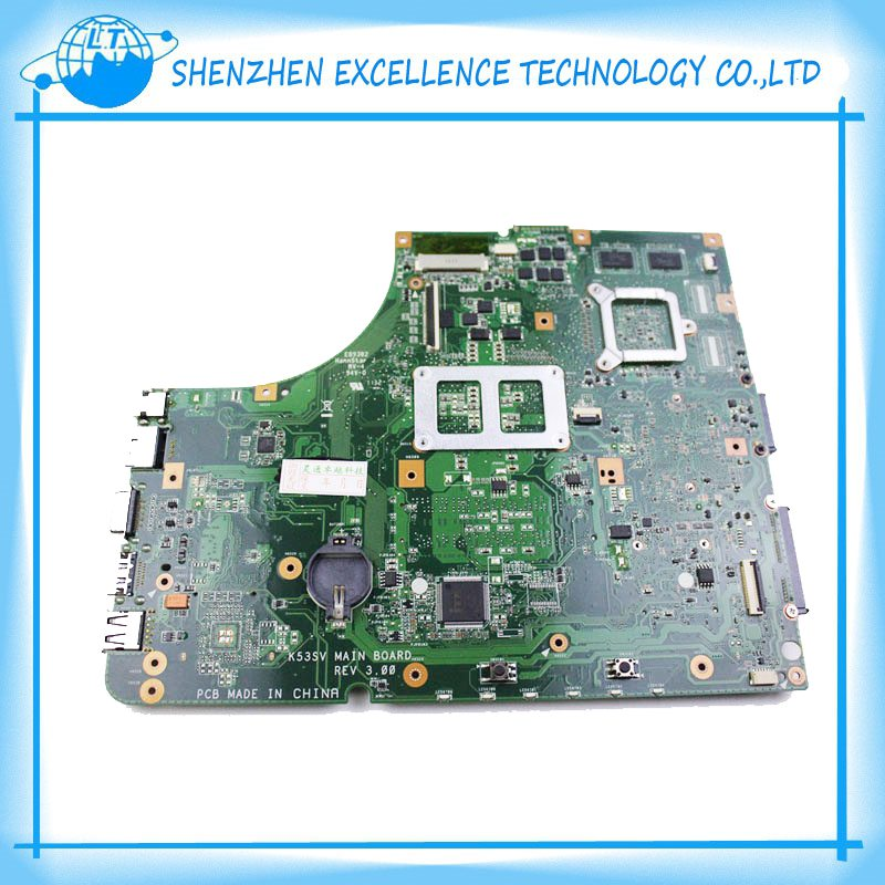 for ASUS K53SV laptop motherboard X53S A53S K53SJ K53SC P53S K53SV series laptop 1GB or 512MB GT520M 4 memory<br><br>Aliexpress