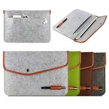 New wholesale Cover 11 12 13 Inch Protective Laptop Bag Sleeve Case for Apple Macbook Air Pro Retina 11.6 13.3 Notebook Bag free(China (Mainland))
