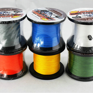New Wholesale 1pc Free Ship Cheap Blue PE Braided Wire,Strong Test PE Braided Fishing Line,500m Monofilament PE Braided Line(China (Mainland))