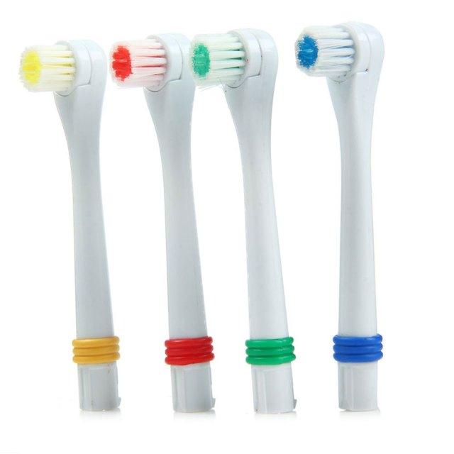 1 шт. Общие Сменные Головы Электрическая Зубная Щетка Отбеливание Зубов Малыша Взрослых Гигиена Полости Рта Dental Care Случайный Цвет Гигиена Полости Рта