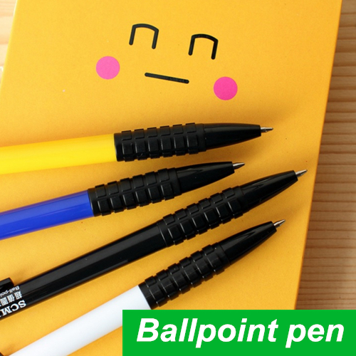 60 pcs/Lot Ballpoint pen Blue ink ballpen Classic design Caneta stationary Wholesale pen Office accessories school supplies 6284(China (Mainland))