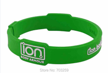 1000pcs customized rubber silicone  bracelets EG-WPB001 personalized rubber hand bands True 550(China (Mainland))