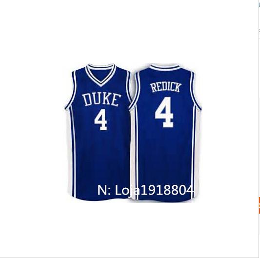 953cf6c2b ... discount 4 jj redick duke blue devils reminiscent retro white basketball  jersey 100 stitched any size