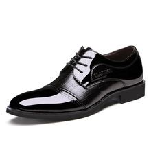 2015 Fashion Business Bright Boots Summer Cool Winter Warm Men Leather Shoes Men s Flats Shoes