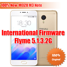 "100% New Original Meizu M3 Note Helio P10 Octa Core  Smartphone Fingerprint ID 5.5"" 1080P FHD 4100mAh Flyme 5.1 Dual SIM(China (Mainland))"