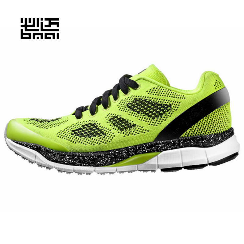 Bmai men's Professional running shoes Breathable mesh sports breathable shock absorption Sneakers 10 km running shoes XRCA001(China (Mainland))