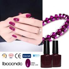 2016 IBCCCNDC Shellaced 1Pcs UV Gel Nail Kit Soak Off LED UV Lamp Gel Polish Fashion 79 Colors For Nail Art Design 7.3ml 09955