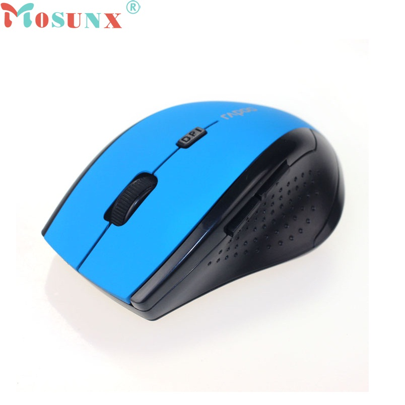 Beautiful Gift 100% Brand New 2016 2.4GHz Wireless Optical Gaming Mouse Mice For Computer PC Laptop Free Shipping Dec17(China (Mainland))