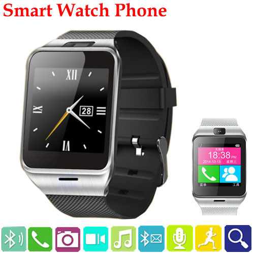 Waterproof Smart Watch bluetooth wristWatch 1.3MP Cam Sync Call SMS Android watch Phone NFC Wearable Aplus GV18 Smartwatch phone(China (Mainland))