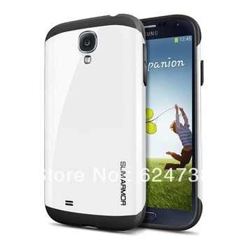 High Quality SGP SPIGEN SGP Slim Armor case For Samsung Galaxy S4 SIV i9500 with Retail Packing and Free shipping.