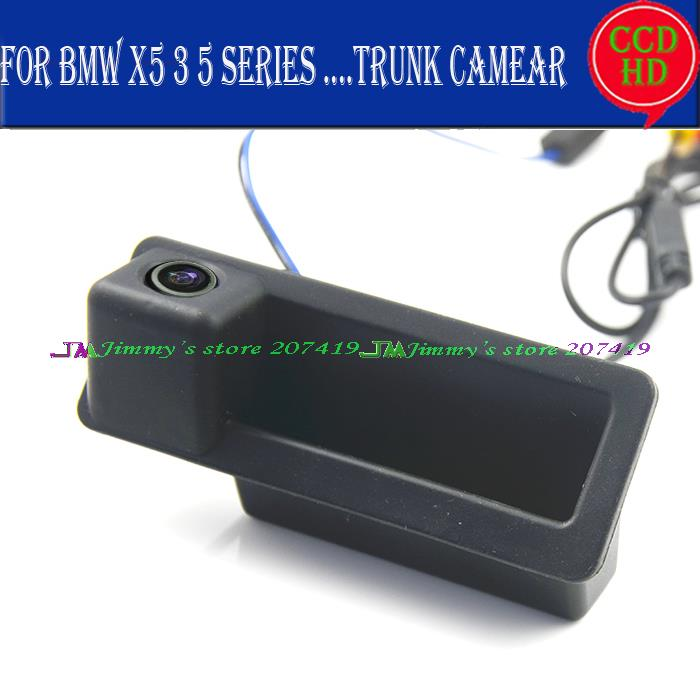 car rear Camera For sony ccd BMW 3 Series 5 Series BMW X5 X1 E82 E88 E84 E90 E91 E92 E93 E60 E61 E70 E71 E72 trunk handle(China (Mainland))