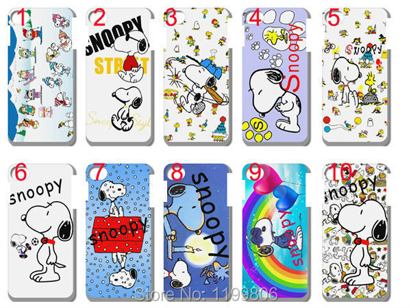 """new arrival snoopie case Silicon TPU soft back cover for iphone 6 4.7"""" 10PCS/lot free shipping(China (Mainland))"""
