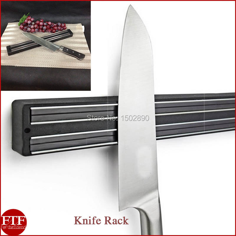 wall mount magnetic knife storage holder chef rack strip utensil kitchen tool in seafood. Black Bedroom Furniture Sets. Home Design Ideas