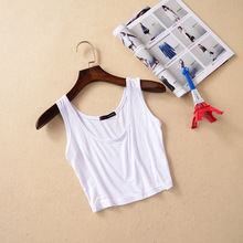 Sexy Model Crop Top Cropped Vintage Tops Tank Bustier Tanks Sleeveless Vest Regata Feminina Women's Shirt Camisole 7 Colors(China (Mainland))