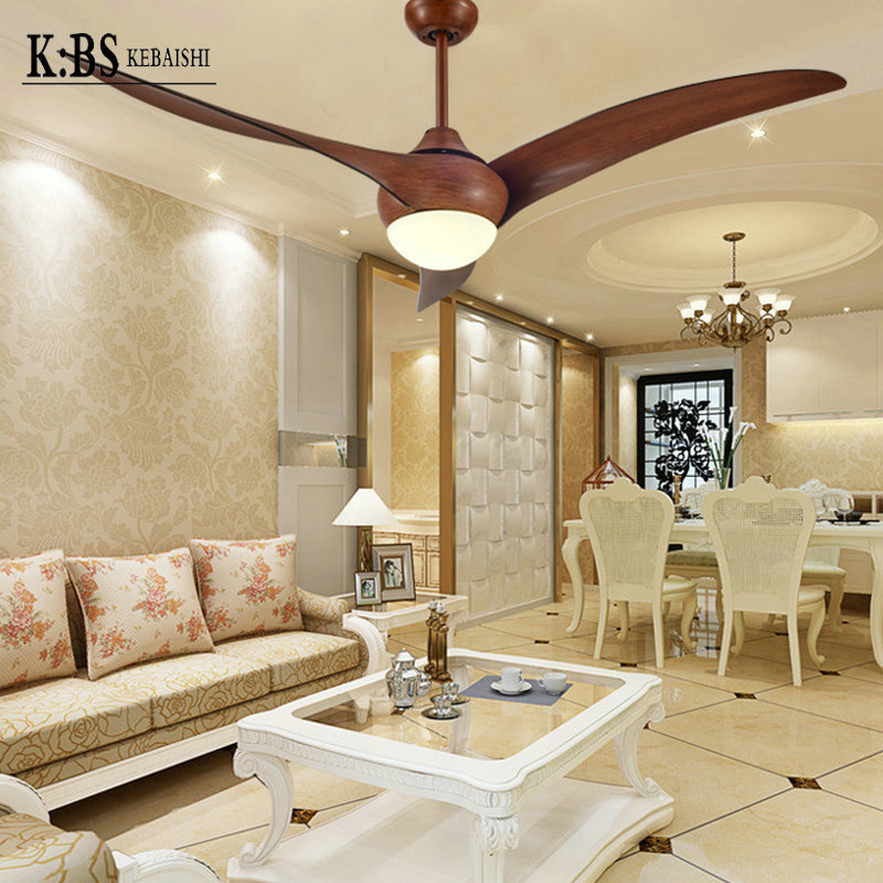American country fan ceiling fan light minimalist living room chandelier restaurant creative fans with light led remote control<br><br>Aliexpress