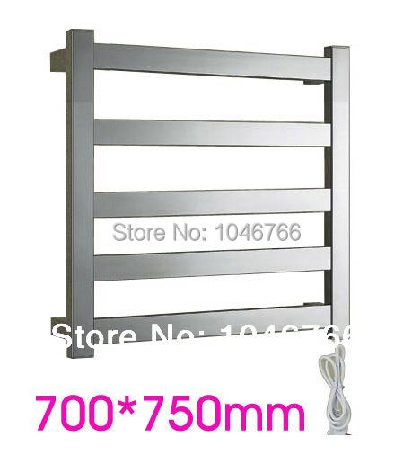 304 stainless steel heated towel rack, towel warmer, electric towel rail, towel radiator, bathroom accessories 5 years warranty(China (Mainland))