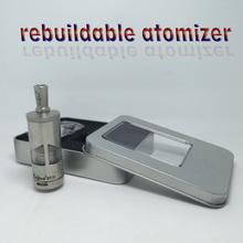 1pc Taifun gt 2 Atomizer taifun GT II taifun GT 2 Atomizer for E-cigarette Mods Stainless Steel taifun gt2 rda 1:1 clone