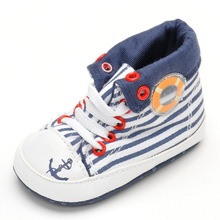 Hot Selling ! Fashion New Style Baby Shoes Handsome Canvas Shoes Lace-up Soft Bottom Anti-slip Sole Home First Walker Baby Shoes(China (Mainland))