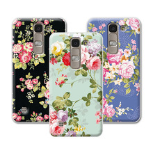Buy 2016 Luxury Floral Painted Case LG Spirit 4G LTE H420 H422 H440N C70 Case Art printed Flower Cell Phone Case LG Spirit for $1.35 in AliExpress store