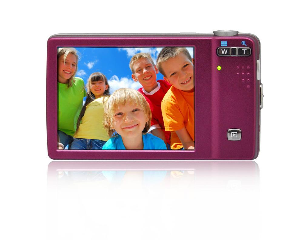 Factory Direct / OEM undertake wholesale digital camera DC-T500 1400 million 5x optical zoom camera(China (Mainland))