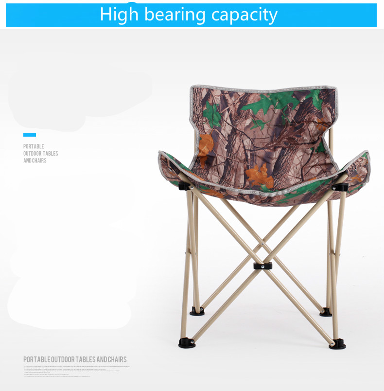 High quality outdoor leisure chair folding chair fishing chair gardern chair folding stool portable reinforcement free shipping