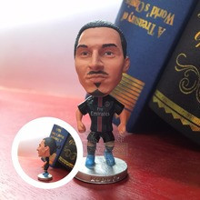 Soccerwe football player IBR AHIMOVIC classic simulation action figures collectible model doll(China (Mainland))