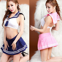 2015 Hot sexy costumes Student cosplay sexy women dress exotic apparel Lingerie