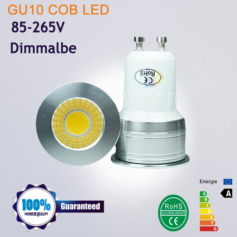 MINI LED Spotlight MR16 GU5.3 220V 12V COB LED LAMP BULB Dimmable GU10 led spotlight 6W Ultra Bright GU 10 Bulbs Warm White(China (Mainland))