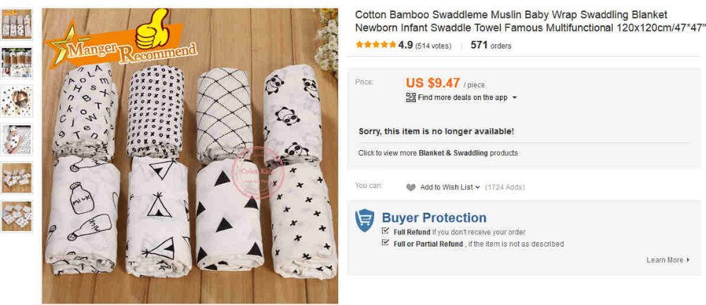 Cotton Bamboo Swaddleme,Muslin Tree Blanket Baby Wrap Swaddling Blanket,Newborn Swaddle Towel Famous Multifunctional 120x120cm