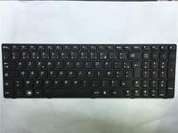 hotsale  New  keyboard T4G8-FR 25201888 for Lenovo G580 G580A G585 G585A N580 N585 N586 Black key Black frame FRANCE  Version