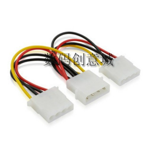 IDE molex 4 контактный мужчин до 2 x женской энергии разделитель кабель ide мужчин двойной женский 4-контактный кабель