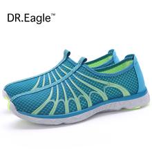 Dr.eagle Comfortable men run mens running shoes sports shoe breathable mesh super light men sports sneakers cheap Free shipping