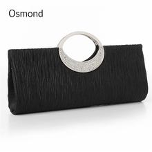 Buy Osmond Women Clutch Lady Handbags Party Satin Bags High Purse Wedding Clutch Female Evening Bags Handbags Bling Bling for $7.49 in AliExpress store