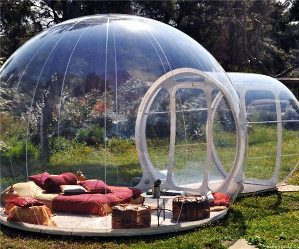 outdoor camping bubble tent, inflatable bubble camping tent, inflatable dome tent(China (Mainland))