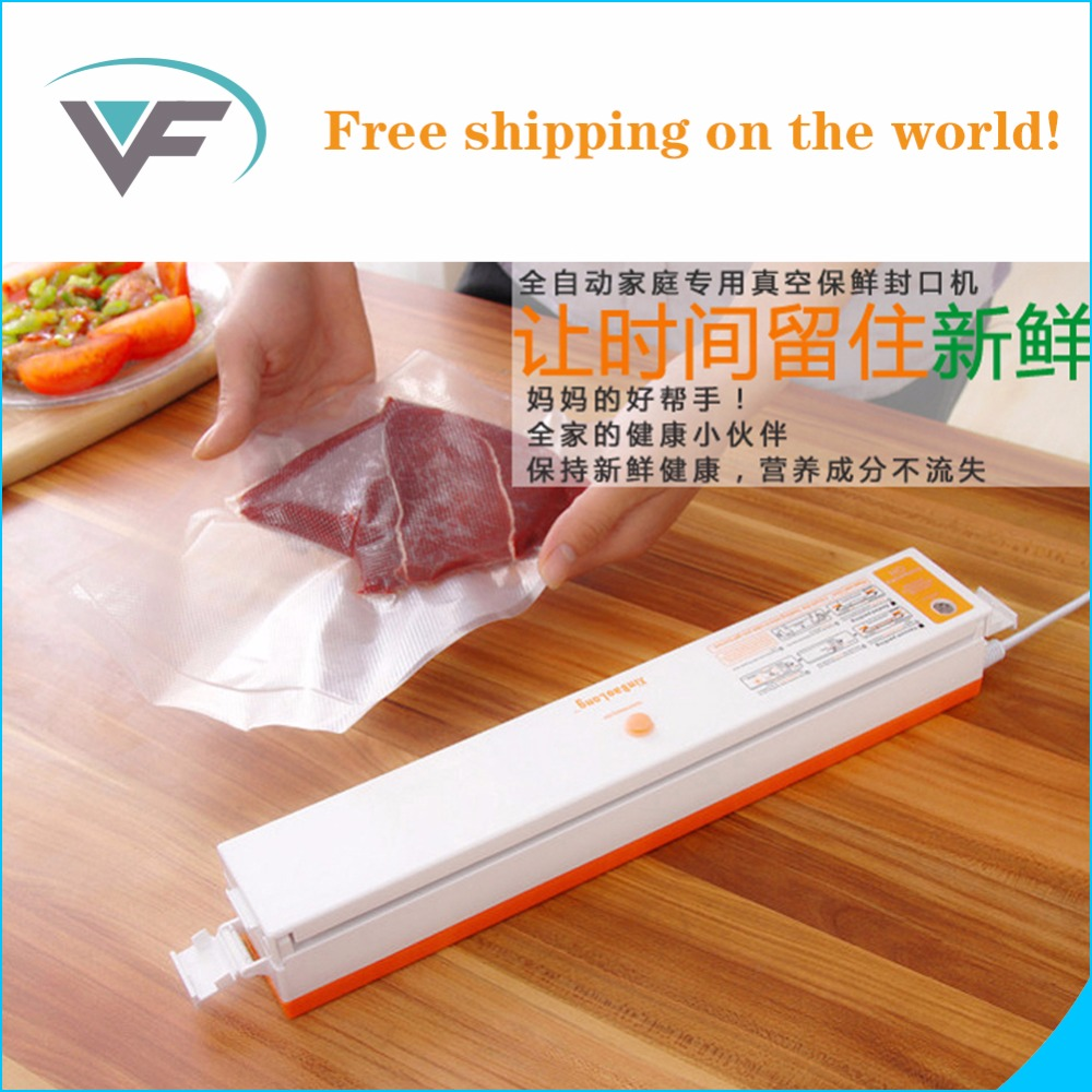 2016 cheapest Automatic Electric Vacuum Food Sealers Machine With All Size Vacuum Bag For Peanut Portable Hot Sales In Russian(China (Mainland))