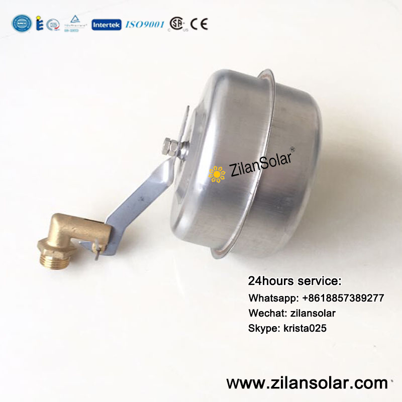 solar water heater SUS304 float ball with brass switch valve(China (Mainland))