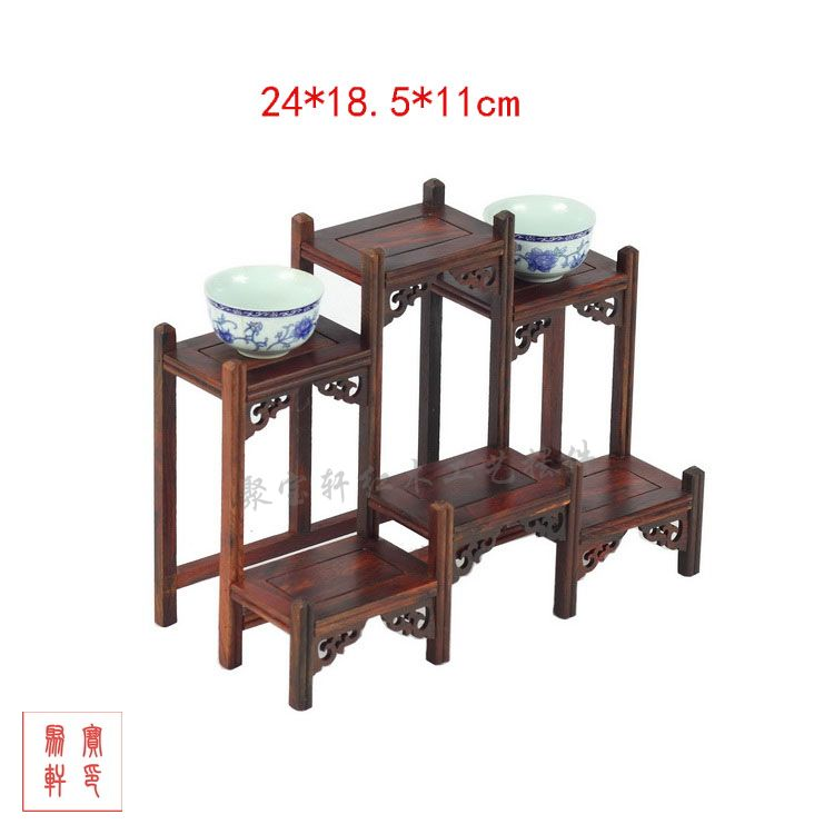 Annatto rich ancient frame wood carving handicraft furnishing articles modern classical Chinese real wood furniture(China (Mainland))