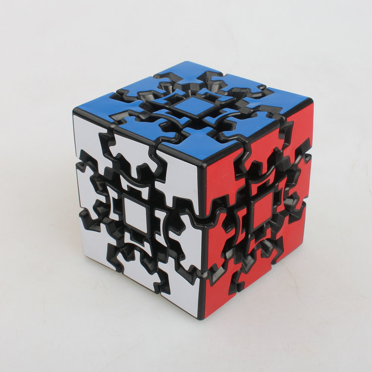 2015 Brand New X-cube 60mm 3x3x3 Gear Magic Cube 3D Puzzle Cubes Educational Toys Special Toys(China (Mainland))