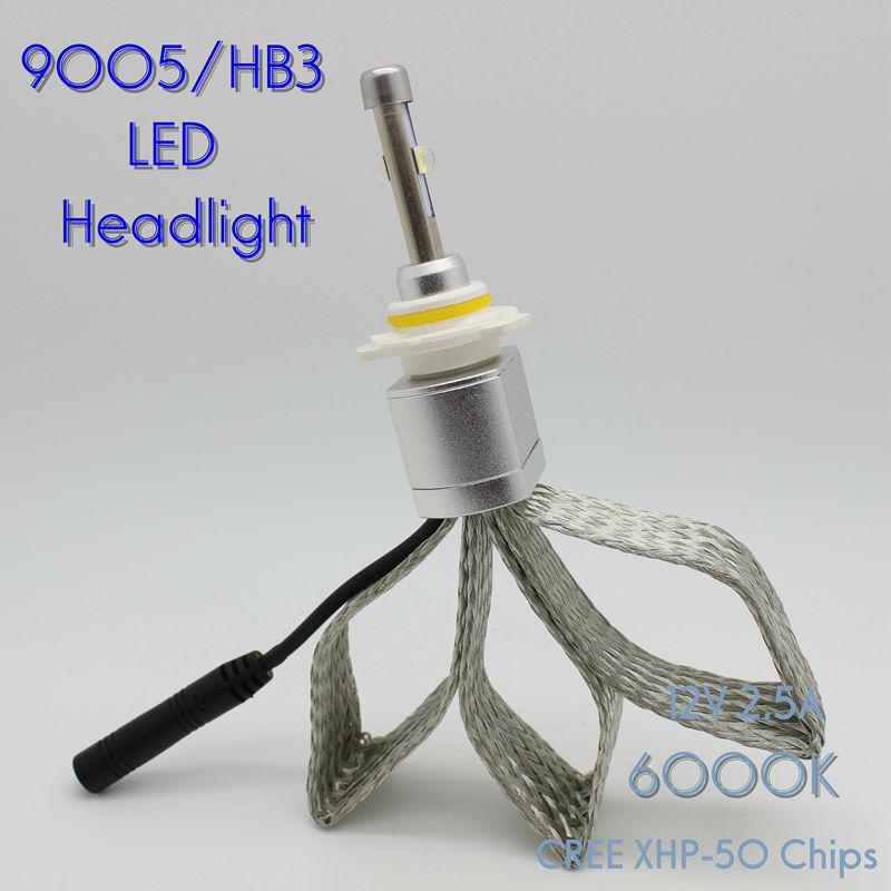 Osen Super Bright 40w 9005 HB3 H10 Xenon White 6000K Car LED Headlight Conversion Lamp Kit 4800lm Bulb<br><br>Aliexpress