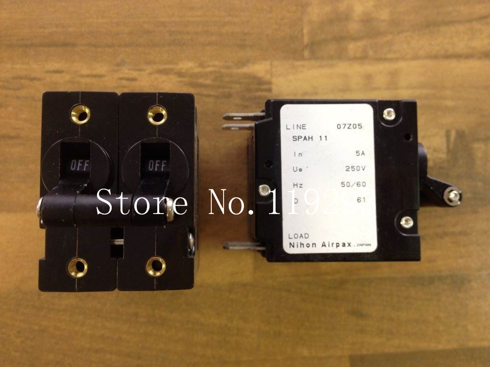 [SA]US AIRPAX Ebbers SPAH11 genuine original equipment 2P5A 250V breaker--5pcs/lot<br><br>Aliexpress