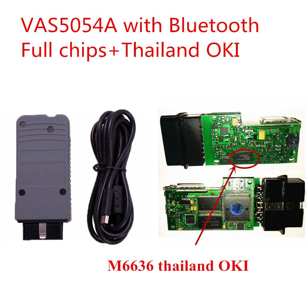 BEST Quality VAS 5054A ODIS 2.02 Bluetooth Support UDS Protocol OKI Chip + Full Chip Diagnostic Tool VAS5054A VAS 5054 VAS5054a<br><br>Aliexpress