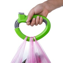 New Portable Carry Food Machine Ergonomic 17*12cm Weight Capacity 15kg Handle Carry Bag Hanging Ring Shopping Helper Tools(China (Mainland))