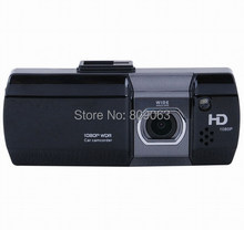 Dual Camera Car Dash Cam AT580 Car DVR Full HD 1080P With G Sensor WDR 148
