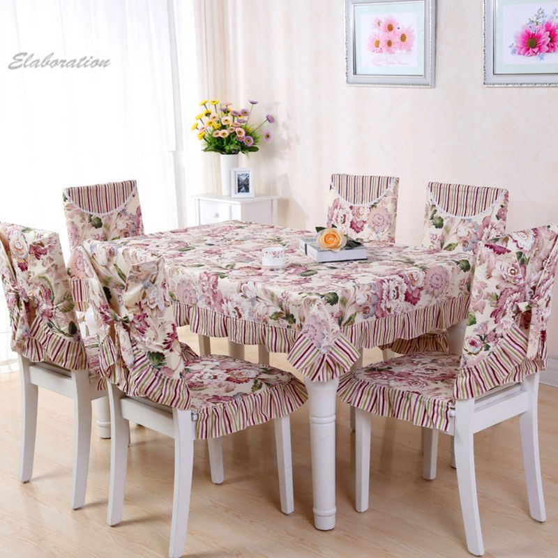 New Table Cloth Set round tablecloth home decoration strips floral print table cloth Toalha De Mesa kitchen dining table cover(China (Mainland))