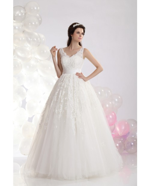 How to alter the length of a wedding dress