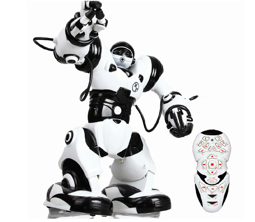 Child electric robot intelligent remote robot toy 3 boy(China (Mainland))