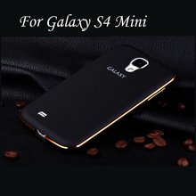 Top Touch Feel Aluminum Case For Samsung Galaxy S4 Mini Arc-Shaped Back Metal Cover For Galaxy S4 Mini Coque Funda Capa Capinha(China (Mainland))