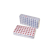 100pcs Standard Plastic 10mm Game White Decider Dice Die RPG Toy Bauble  B2C Shop(China (Mainland))