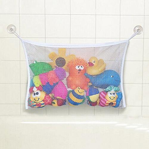 Brinquedo Do Bebê Venda quente Saco de Armazenamento De Malha Banho Banheira Organizador Boneca Material de Banho de Sucção Net 7K1M(China (Mainland))